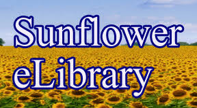 Sunflower e library logo